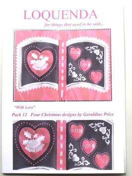 PATTERN PACK 12 BY GERALDINE PRICE