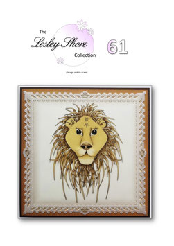 PATTERN 61 'KING OF THE JUNGLE' BY LESLEY SHORE