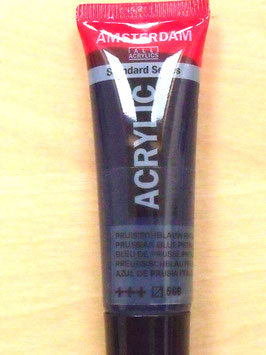 AMSTERDAM ACRYLICS 20ML - PRUSSIAN BLUE 566