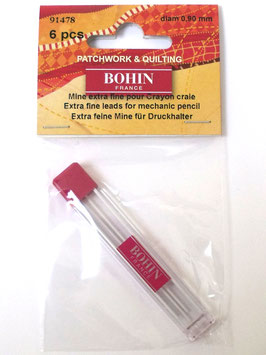 BOHIN WHITE REFILLS 0.9 FOR BOHIN MECHANICAL PENCIL