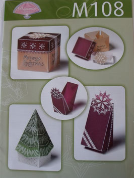 M108 - PERGAMANO PATTERNS - CHRISTMAS BOXES