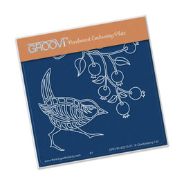 GROOVI BABY PLATES - WREN AND ROSE HIP