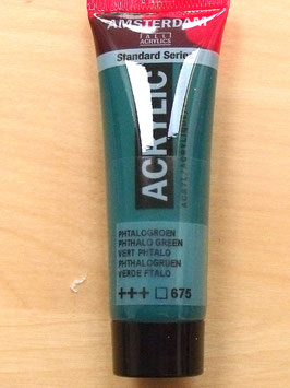 AMSTERDAM ACRYLICS 20ML -PHTHALO GREEN 675