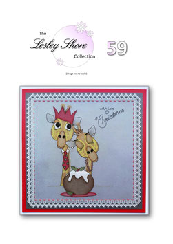 PATTERN 59 'WITH LOVE AT CHRISTMAS' BY LESLEY SHORE