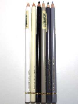 FABER CASTELL BUNDLE OF 6 NEUTRAL SELECTION