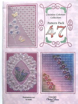 PATTERN PACK 47 BY CHRISTINE COLEMAN