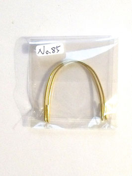 A PAIR OF HANDLES FOR RECTANGLE BAG IN GOLD OR SILVER (PLEASE CHOOSE FROM DROP DOWN BAR)