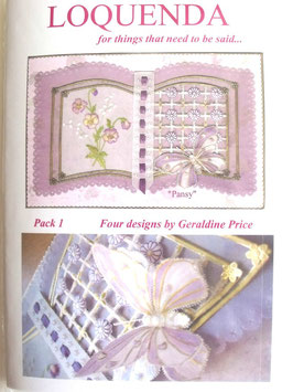 PATTERN PACK 1 BY GERALDINE PRICE