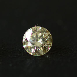 0,23 ct, Fancy Greenish Yellow*, VS*, Round