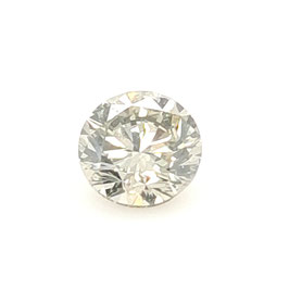 0,96 ct, Fancy Light Grey, SI2, Round, GIA Certified