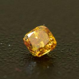 0,15 ct, Fancy Deep Orange-Yellow, VS1, Radiant, IGI Certified