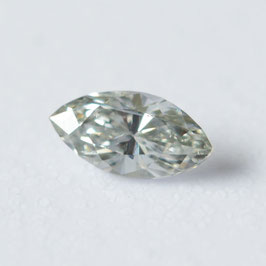 0,04 ct, Fancy Light Gray, (VS), Marquise, GIA Certified