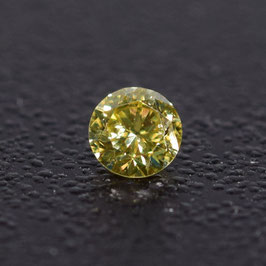 V 0,06 ct, Fancy Intense Yellow*, VS*, Round