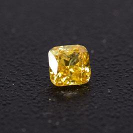 0,20 ct, Fancy Intense Orangy Yellow, VS2, Radiant, IGI Certified