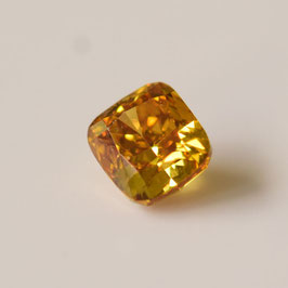 0,23 ct, Fancy Intense Orangy Yellow, SI1, Radiant, IGI Certified