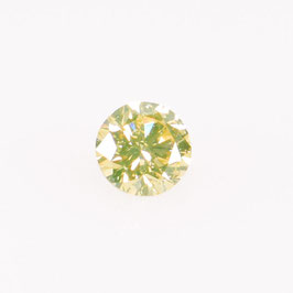 0,12 ct, Fancy Yellow*, SI1*, Round