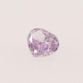 V 0,04 ct, Fancy Intense Purple Pink*, I*, Oval