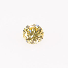 0,10 ct, Fancy Yellow*, VS*, Round
