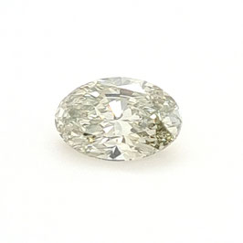 1,04 Carat, VS2, Natural Fancy Grayish Yellowish Green, Oval, GIA Certified