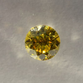 0,26 Carat, VVS2, Natural Fancy Vivid Yellow, Brillant, IGI Certified