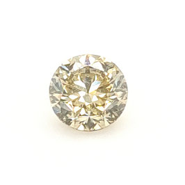 1,00 ct, Fancy Brown-Greenish Yellow, SI2, Round, GIA Certified