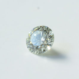 0,38 ct, Light Green, VS2, Brillant, IGI Certified