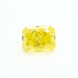 1,08 ct, Fancy Vivid Yellow, VVS1, Radiant, GIA Certified