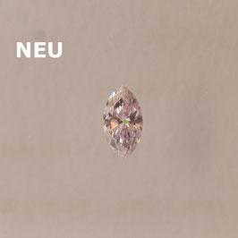 V 0,04 ct, Fancy Intense Purplish Pink, (SI), Marquise, IGI Certified