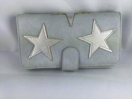 Portemonnaie Stern /hellblau 005