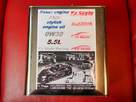 86・BRZ 水平対抗 オリジナルエンジンオイル 0W30 通販専用 5.5L缶
