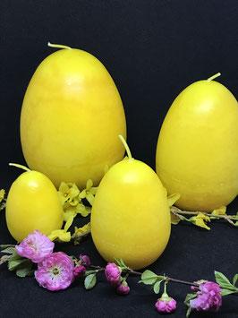 """Trend Ostereierkerzen """"Zitrone"""" in verschiedenen Größen"""
