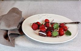 Lot de 10 fraises décoratives