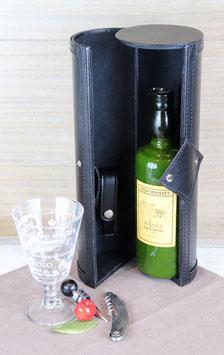 Boite de présentation pour bouteille.