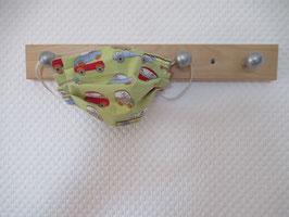 Kinder-Behelfsmaske mit kleinen Autos