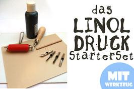 LINOLDRUCK Starter Set (inkl. Werkzeug & Farbe)