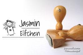 Elfe Jasmine Namensstempel