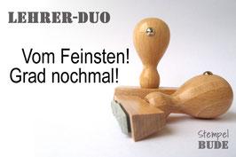 Lehrer-Duo (2 Stempel)