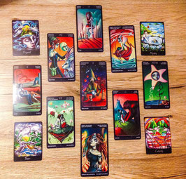 Wheel of the Year - Year ahead Tarot & Oracle Reading