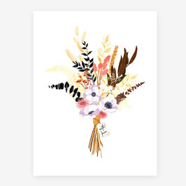 Poster Modern Bouquet - All the ways to say