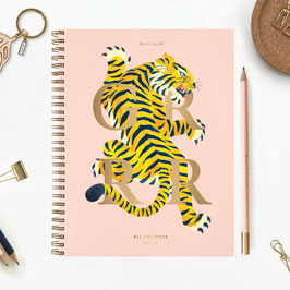 MONTHLY AGENDA - TIGER - All the Ways to say