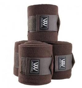 WW Fleece Bandagen braun