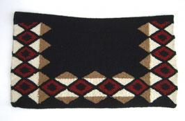"""S.M.E."" Show Blanket - rot,weiß,beige - New Zealand Wool - 36´´x 34´´"
