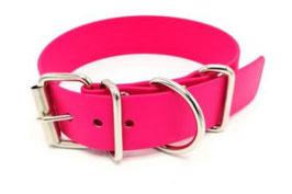 "BioThane® ""Pink"" Halsband"