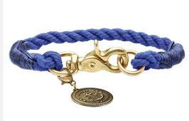 Halsband List dunkelblau