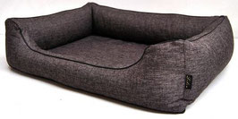Hundebett Lino braun/grau