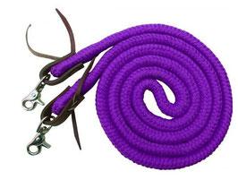 Baumwollzügel geschlossen lila