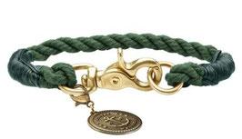 Halsband List oliv rund