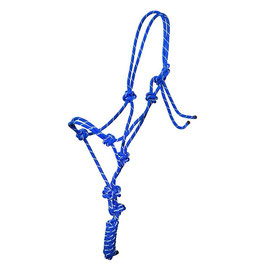 Knotenhalfter mit Reflexstreifen