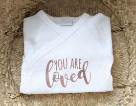 Body  You are Loved - goldrosé/hellrosa