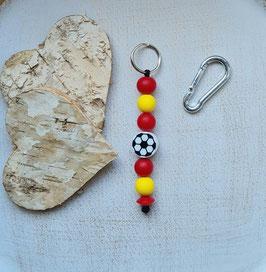Taschen Anhänger Fussball Spanien/Nordmazedonien